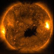 위성 '히노데', 신비로운 태양 얼굴 촬영