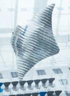 가오리 모양의 차세대 비행선 개발