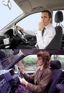 여성운전자, 남성보다 목 골절 3배 위험