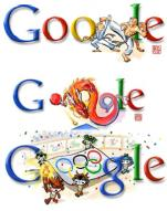 구글, 올림픽 특집 '태권도 로고' 선보여