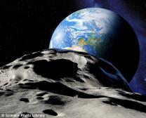 "NASA ""소행성, 지구 살짝 빗겨갔다"""