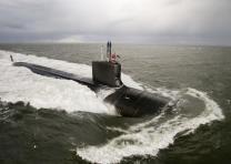 美, 버지니아급 핵잠수함 '뉴멕시코' 인수