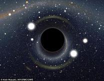 NASA, '블랙홀' 가상사진 충격 공개