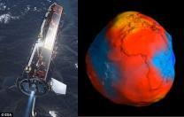못생긴 감자?…위성으로 관측한 지구 공개