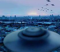 카자흐스탄 상공 수놓은 'UFO 부대' 정체는?