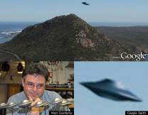 구글어스 포착된 UFO, 진실은?