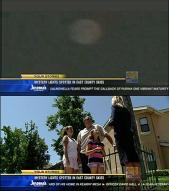 혹시 UFO?…홈비디오에 찍힌 의문의 불덩어리