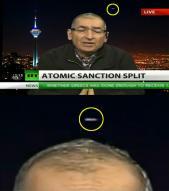 러 생방뉴스서 이란 상공 UFO 포착