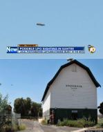 우연히 찍은 선명한 미스터리 UFO 사진 공개