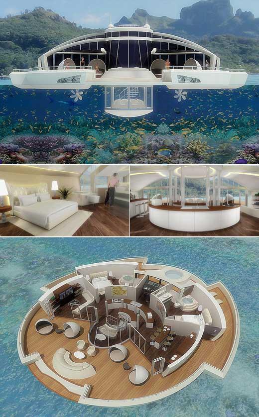 [나우뉴스] 둥둥섬 해외판?…2583억짜리 '떠다니는 섬' 화제
