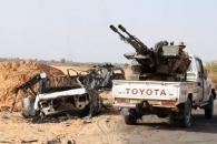 """이슬람 무장단체 '리비아의 새벽', """"트럭에 기관총 탑재...모든 게 무기"""""""