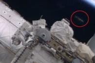 ISS 근처에 UFO가?…NASA 영상서 발견