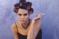 안젤리나 졸리의 90년대…파격·반항의 미공개 화보