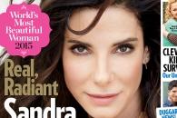 50세 산드라 블록, 피플 선정 '세계에서 가장 아름다운 여성'