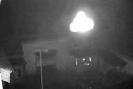 '불도 닦으러 왔나'…中 사찰 CCTV에 찍힌 UFO
