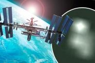 """""""ISS 영상에 UFO 3대…NASA 영상선 편집"""""""
