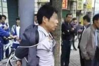 여학생 성희롱한 50대男의 최후…전신주에 묶여