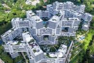 소통과 공존의 주거지...싱가포르 인터레이스 아파트 '올해의 건물' 선정
