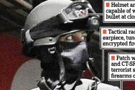 '로보캅' 방불...첨단장비 무장한 英 대테러 경찰