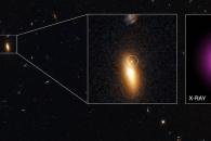 [아하! 우주] 지구에서 45억 광년…방랑자 블랙홀 포착