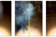 [아하! 우주] 벌거벗은 블랙홀 포착