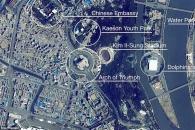 국제우주정거장에서 본 평양은 한산했다(영상)