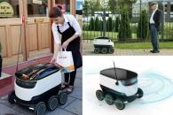 '로봇 택배' 英 첫 배달…시속 6km 이동 가능