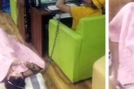 중국男, 여친 손목 묶고 PC방에서 게임하는 이유는?