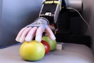 토마토도 만지작…부드러운 손 가진 로봇 개발