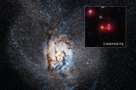 [아하! 우주] 매년 태양질량 4500배 별 탄생하는 은하 포착