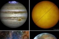 [2016 결산] 목성 오로라와 보석 별…올해의 우주사진 톱8