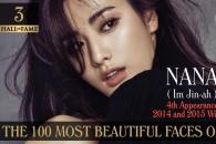 '세계서 가장 예쁜 얼굴 100인'에 나나 등 韓연예인 14명