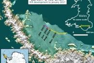 [와우! 과학] '서울 10배' 빙산 표류 우려…남극 빙붕 균열 가속