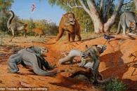 몸길이 7.6m '괴물 도마뱀'이 멸종된 이유는?