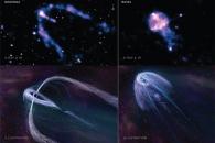 [아하! 우주] '꼬리가 달린 중성자별' 포착