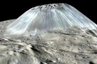 왜소행성 세레스의 유일한 '얼음화산' 비밀 밝혀졌다