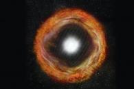 가장 초기 단계의 초신성 발견…폭발 뒤 3시간 모습