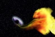 [아하! 우주] 주위 별을 집어 삼키는 '먹보 블랙홀' 발견