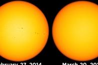 [아하! 우주] 3년 전 태양과 오늘의 태양…흑점은 어디에?