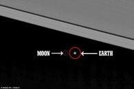 [아하! 우주] '우주 속 점 하나'…토성에서 본 지구