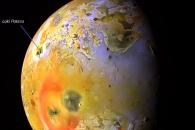 [우주를 보다] 용암이 파도치는 목성 위성 '이오' 포착
