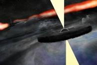 [아하! 우주] 은하 속 괴천체 발견… '괴물 블랙홀' 충돌 코스로 돌진