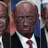 공포영화 악당?…피부 벗겨낸 세계 지도자들