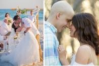 [월드피플+] 세 차례 암 이겨낸 청년…희망과 용기의 결혼식