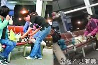 홍콩 공항서 국수 끓여먹는 중국인 관광객 논란
