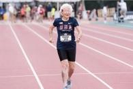 101세 할머니 100m 40초 주파 '세계 기록'