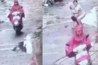 中 임신부, 스쿠터로 3세 남아 치고 도주 (영상)
