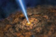 우리 은하 중심부서 태양 10만배 '미들급' 블랙홀 발견