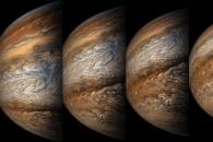 [우주를 보다] '주노'가 잡은 목성의 놀라운 '쌩얼'