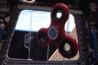 국제우주정거장(ISS)서 '피젯 스피너' 돌려보니…(영상)